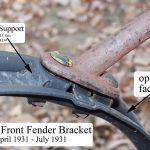 AA-16025 Front Fender Bracket